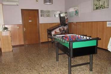 sala giochi/sala ristorante