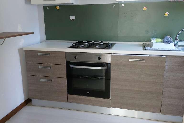 cucina semi-abitabile